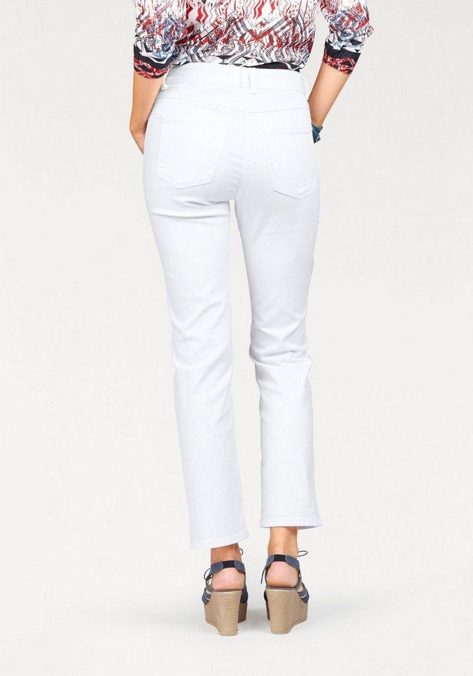 BONITA 5-Pocket-Jeans in weiß