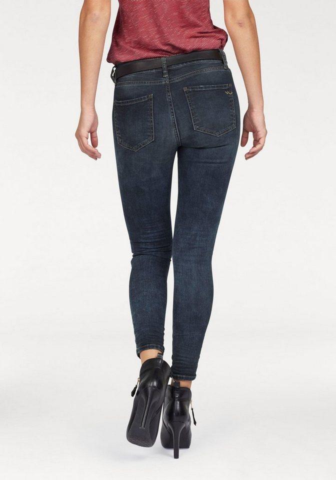 LTB Skinny-fit-Jeans »Lonia« mit Abriebeffekten in playa-wash