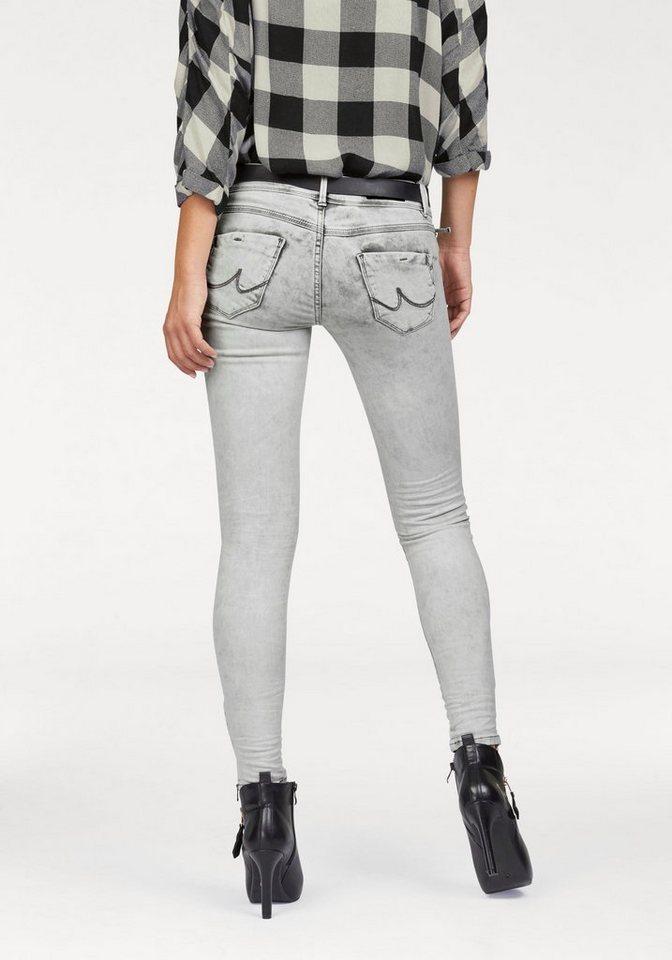 LTB Destroyed-Jeans »Rosella« mit besonderen Details in grey-denim