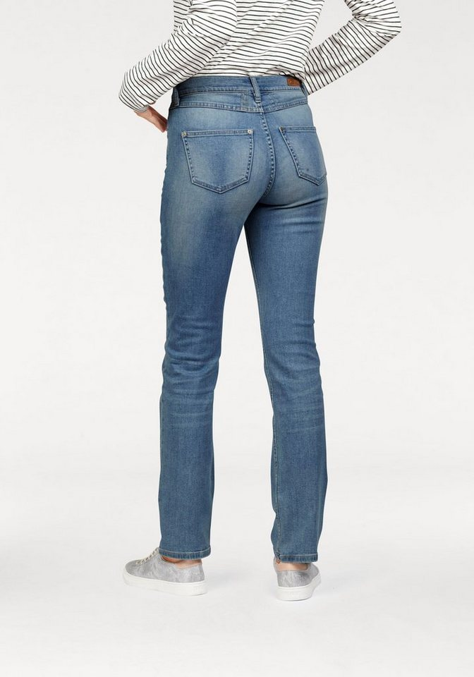 Paddock's 5-Pocket-Jeans »Kate« Hohe Leibhöhe in blue-bleachstone