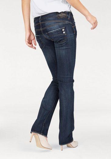 herrlicher straight jeans piper straight low waist aus. Black Bedroom Furniture Sets. Home Design Ideas