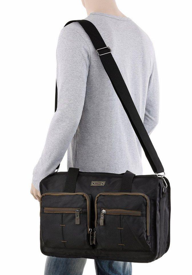 Camel Active Messenger Bag »Montego« in schwarz