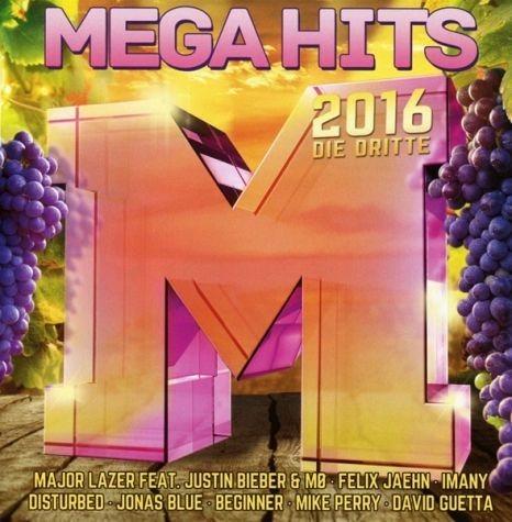 Audio CD »Diverse: Megahits 2016-Die Dritte«