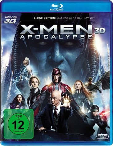 Blu-ray »X-Men: Apocalypse (Blu-ray 3D)«