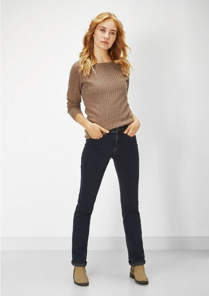 PADDOCK'S Stretch Jeans »KATE« in blue / black used
