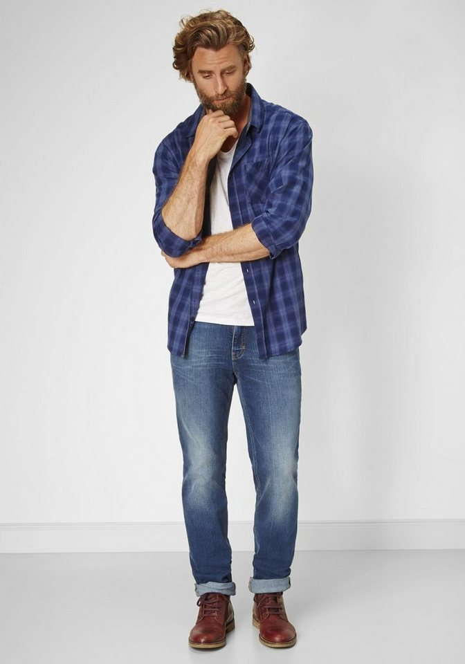 PADDOCK'S 5-Pocket Jeans »RANGER« in blue medium stone