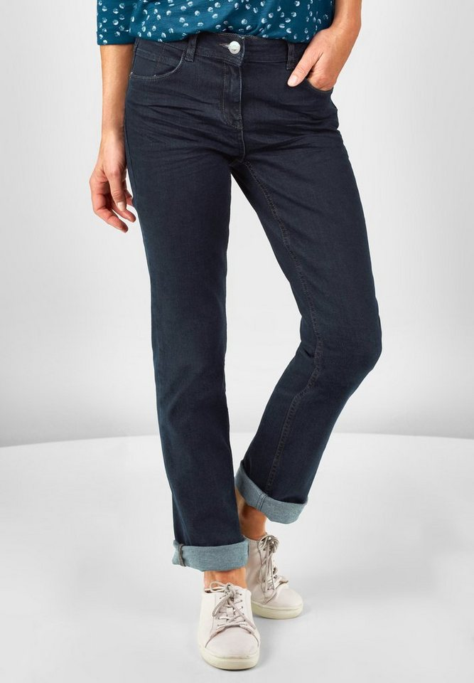 CECIL Regular Fit Jeans Toronto in rinsed wash