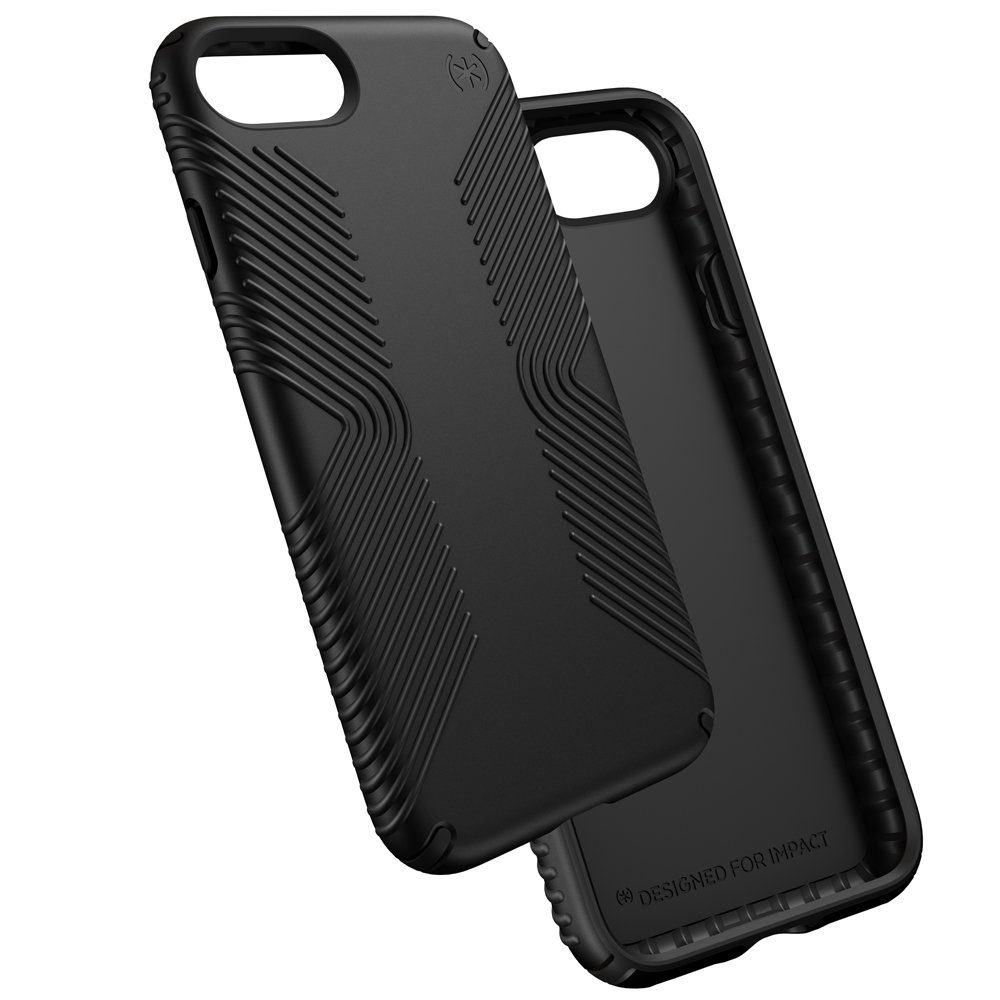 Speck HardCase »PRESIDIO GRIP iPhone (7) BLACK/BLACK«