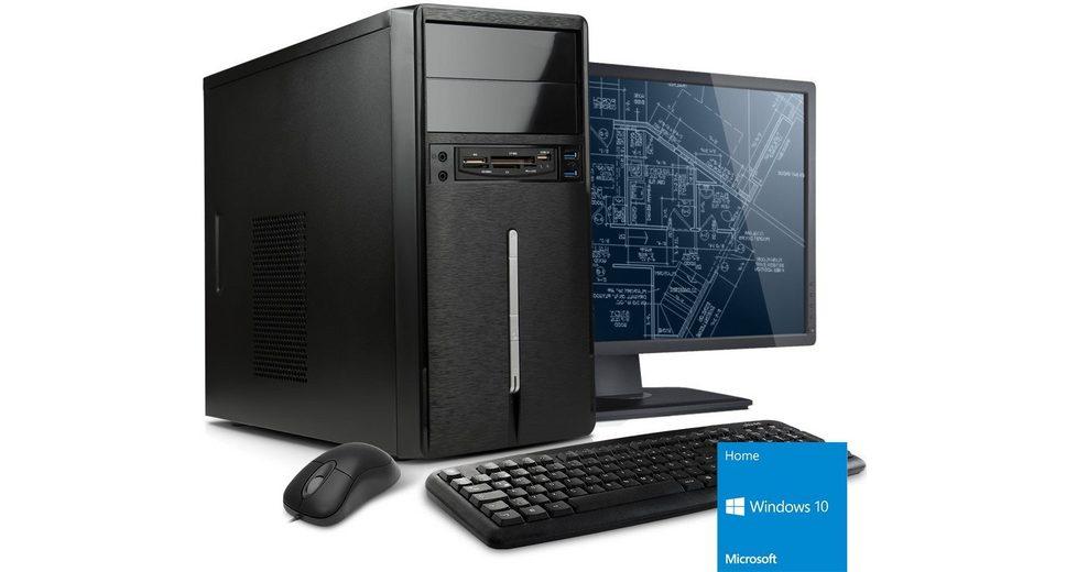 VCM Gaming PC Set / AMD FX-6300 (6x 3,5 GHz) / »GeForce GT 730, 2 GB / 4 GB RAM / Windows 10«