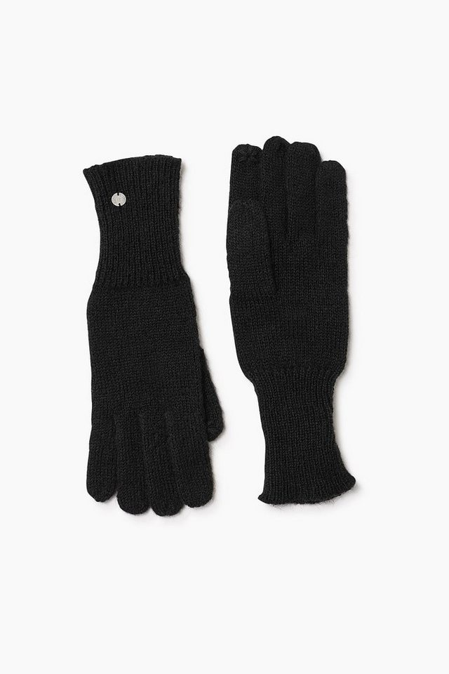 ESPRIT CASUAL Touchscreen Strickhandschuhe in BLACK