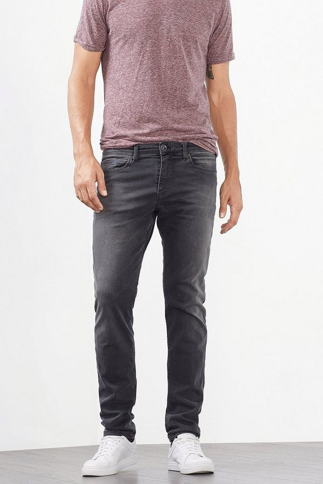 ESPRIT CASUAL Stretch-Jeans aus Dynamic Denim in GREY MEDIUM WASHED