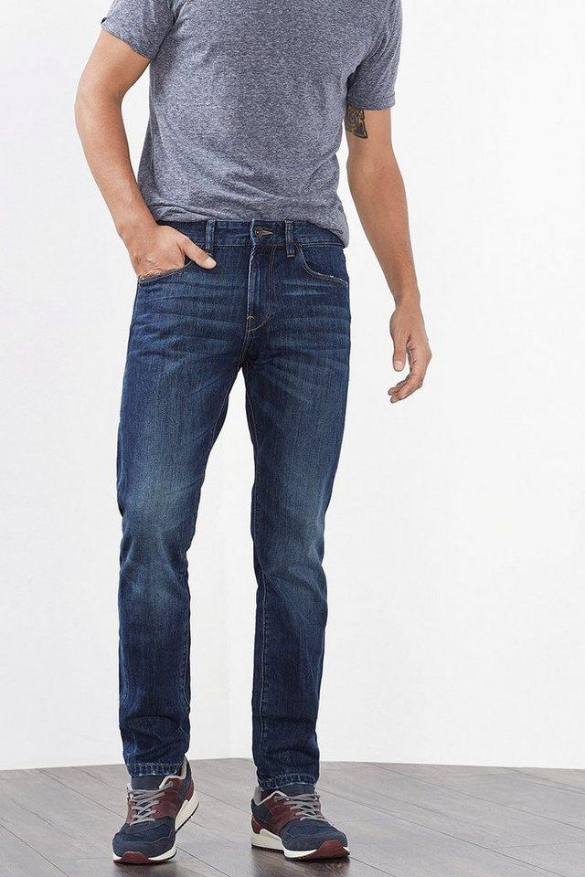 ESPRIT CASUAL 5-Pocket-Jeans aus Non-Stretch-Denim in BLUE MEDIUM WASHED