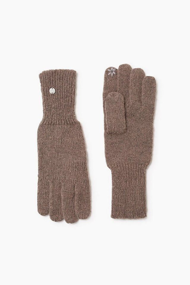 ESPRIT CASUAL Touchscreen Strickhandschuhe in TAUPE