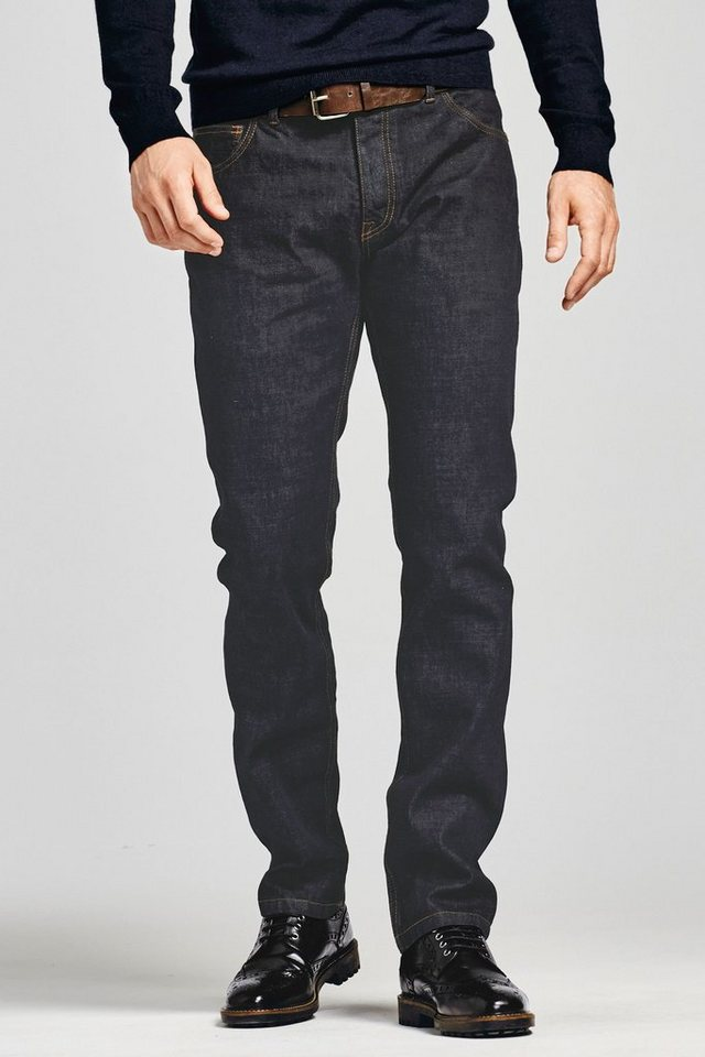 Next Raw Wash Boot-Fit Jeans mit Gürtel 2 teilig in Raw Wash Boot Fit