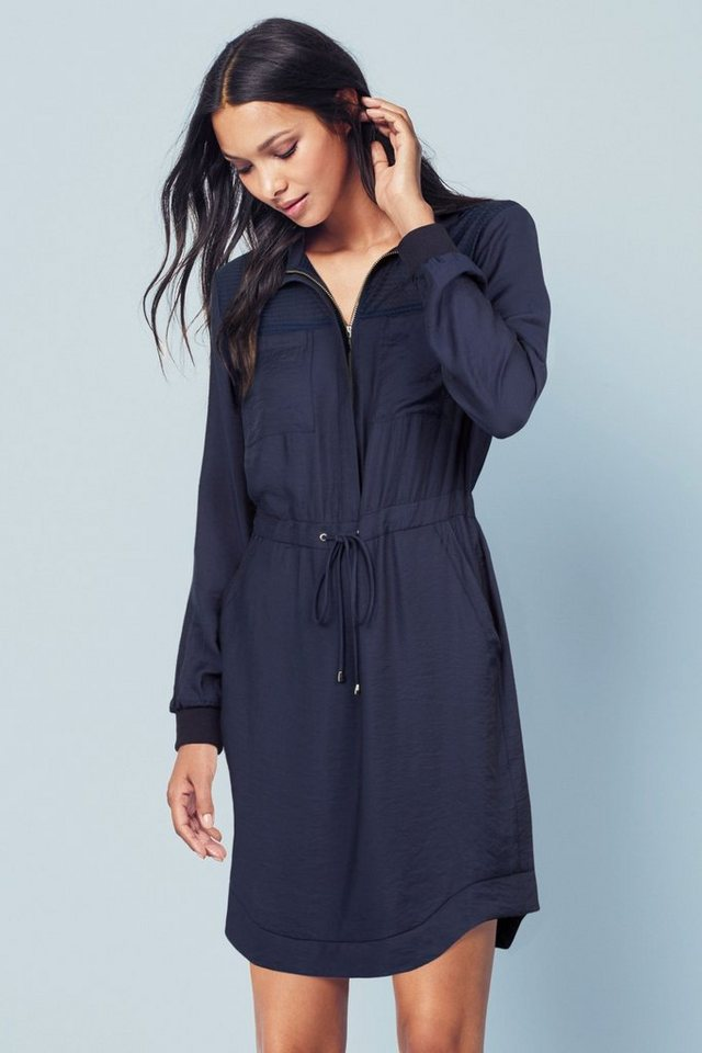 Next Parka-Kleid in Navy