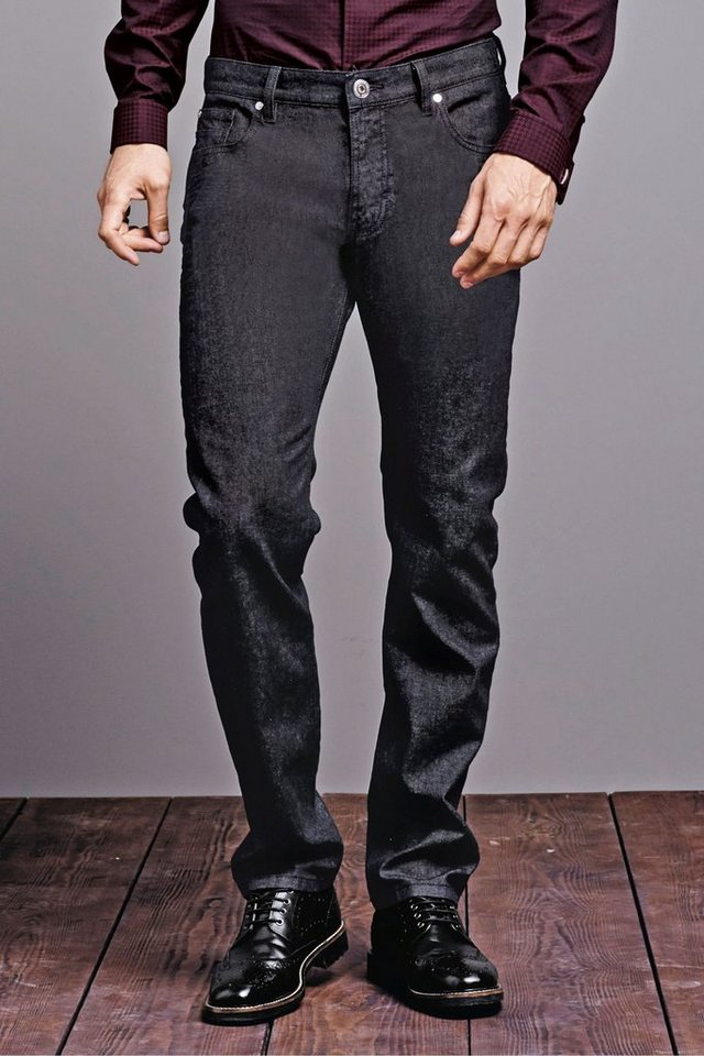 Next Straight-Fit Stretch-Jeans in Blue Straight Fit