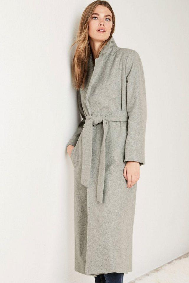 Next Mantel mit Gürtel in Grey