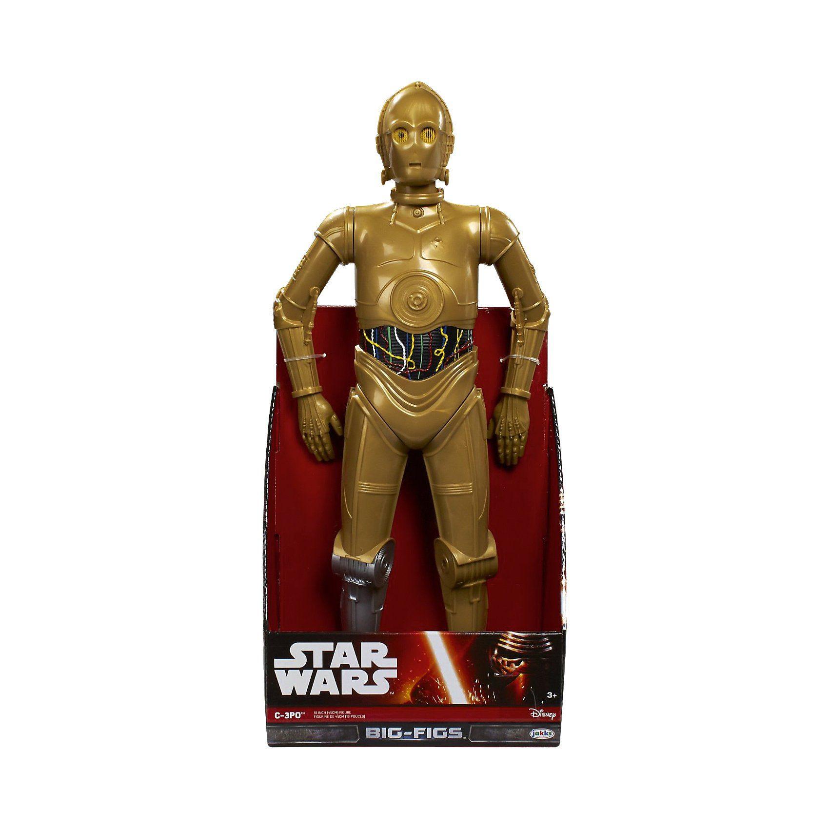 Jakks Pacific Star Wars Das Erwachen der Macht - Big Figs - C-3PO, 48cm