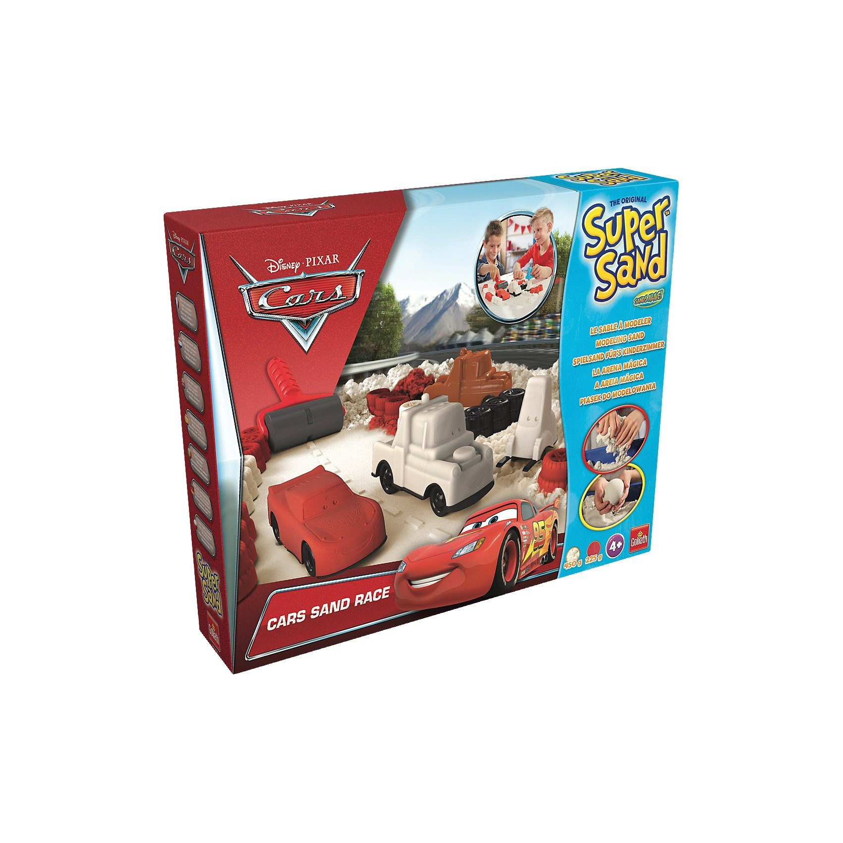 Goliath® Super Sand Big Set - Disney Cars