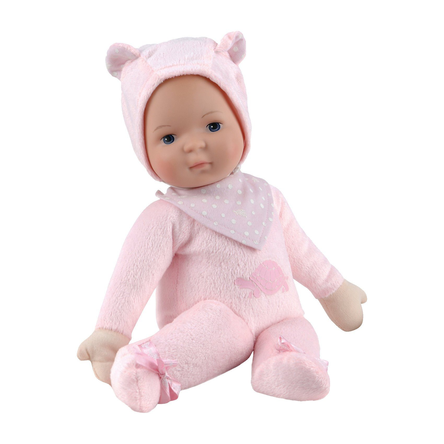 Stadlbauer Schildkröt Schmuserle 35 cm, rosa Babypuppe