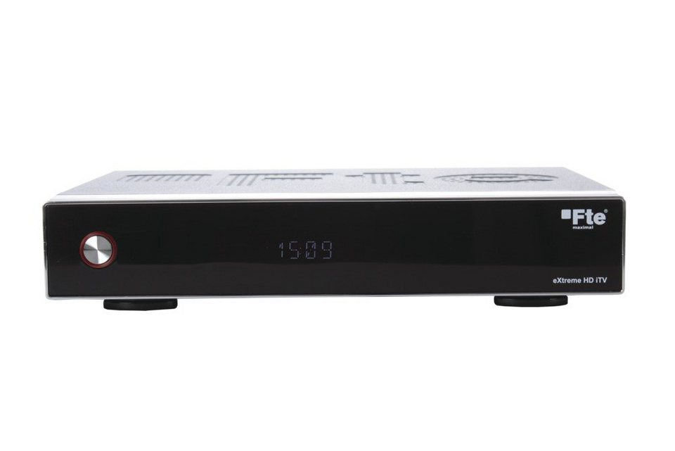 FTEmaximal Sat-to-IP Receiver mit Twin Tuner »eXtreme HD iTV Twin« in silber