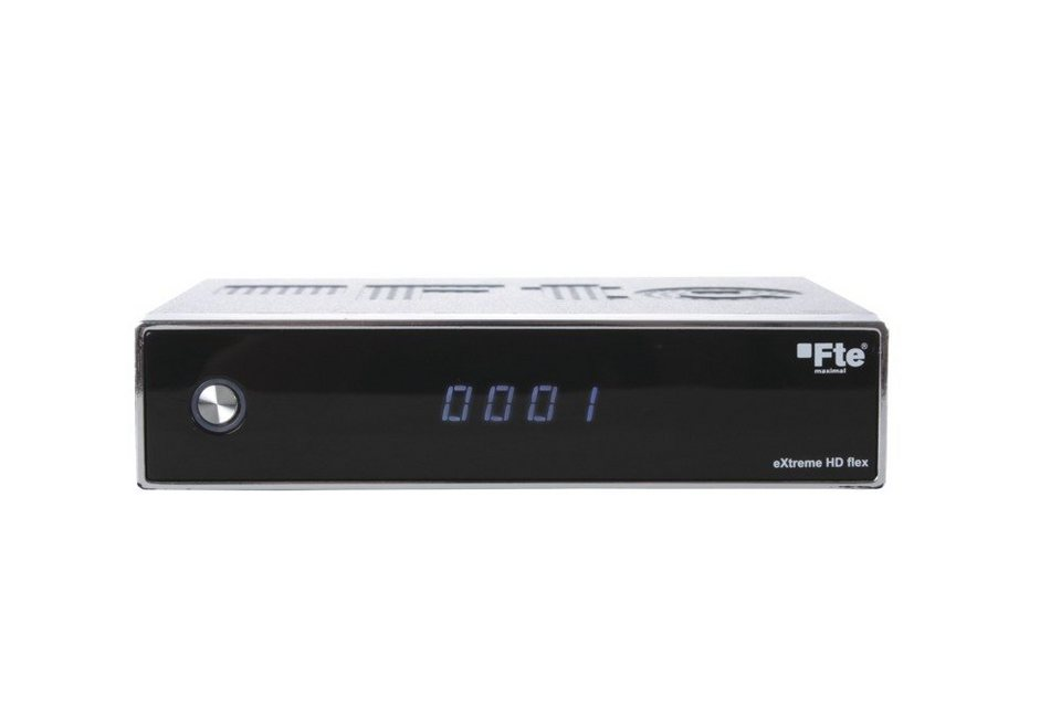 FTEmaximal Full HD Sat-Receiver »eXtreme HD flex« in schwarz