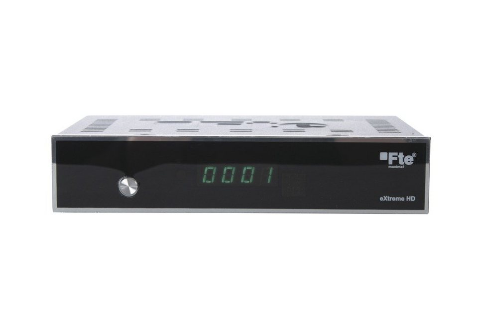 FTEmaximal Full HD Sat-Receiver »eXtreme HD« in silber