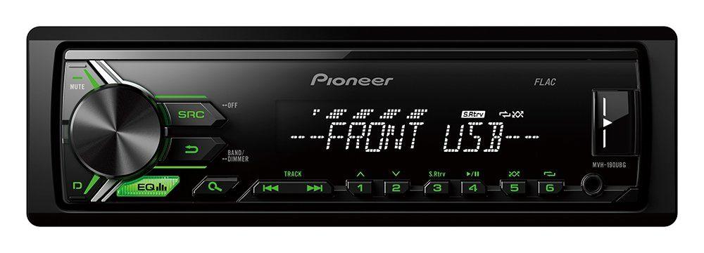 PIONEER 1-DIN Autoradio »MVH-190UBG«