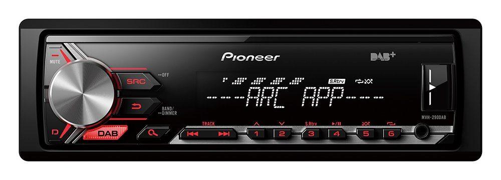 PIONEER 1-DIN Autoradio »MVH-290DAB«