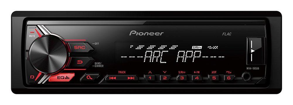 PIONEER 1-DIN Autoradio »MVH-190UB«
