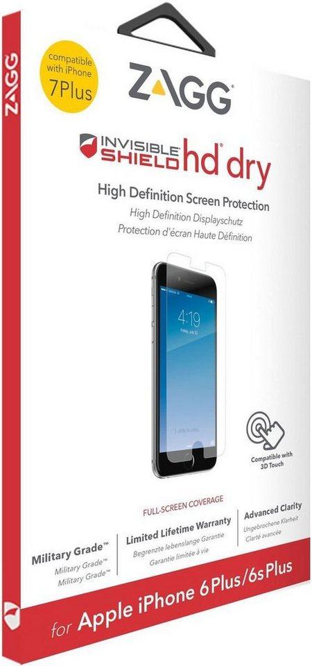 invisibleSHIELD Folie »HD Dry Displayschutz für Apple iPhone 7 Plus« in Transparent