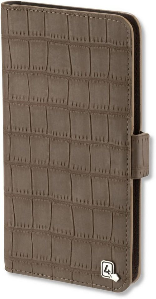 4Smarts Handytasche »UltiMAG Book NORWALK 14,73cm (5.8 Zoll)« in Braun
