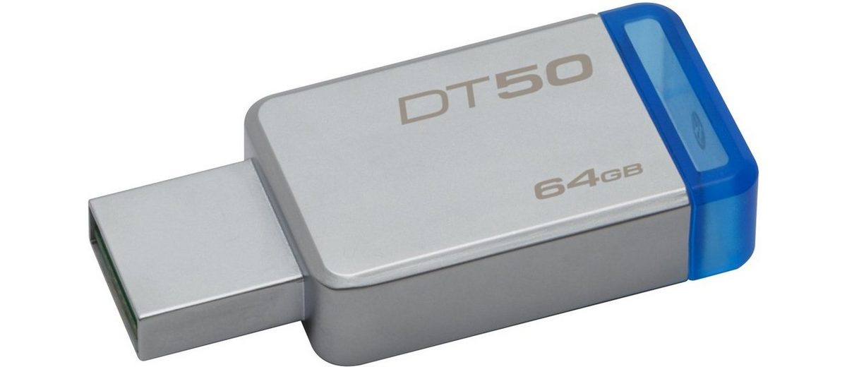 Kingston USB-Stick »Data Traveler 50, USB 3.0, 64GB«