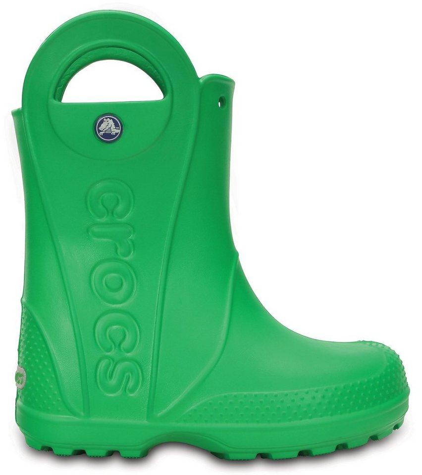 Crocs Trekkingschuh »Handle It Rain Boots Kids« in grün