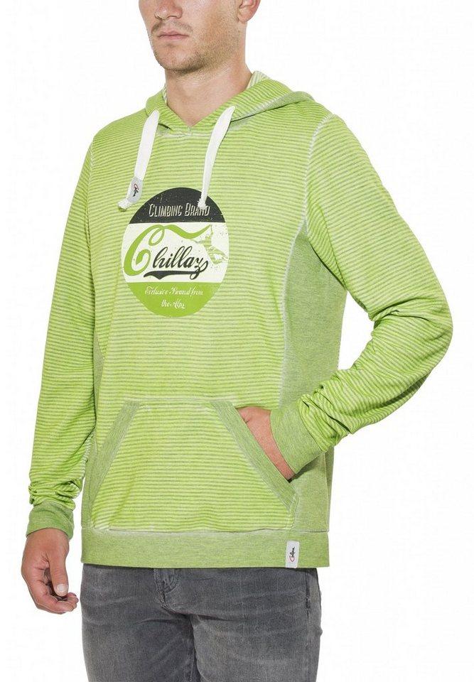 Chillaz Pullover »Vail Retro Hoody Men« in grün