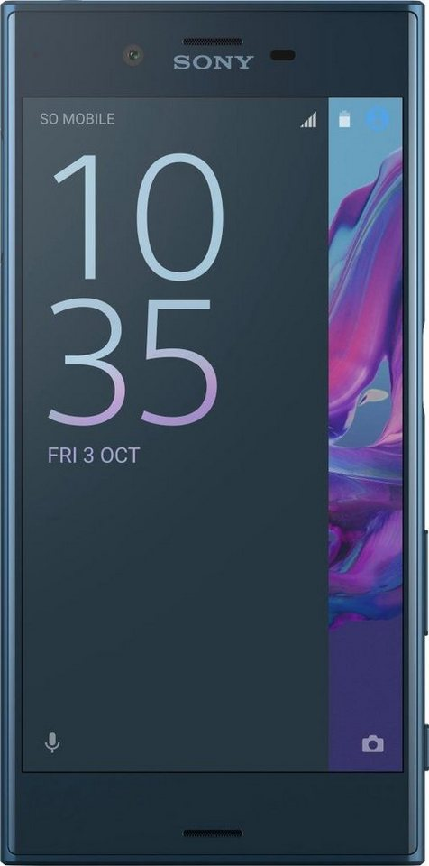 Sony Xperia XZ Smartphone, 13,2 cm (5,2 Zoll) Display, LTE (4G), Android 6.0 (Marshmallow) in blau