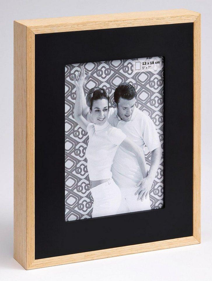 Home Affaire Portraitrahmen »Double« in schwarz