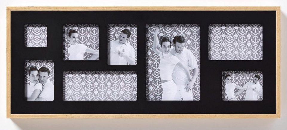 Home Affaire Galeriebilderrahmen »Double« in schwarz