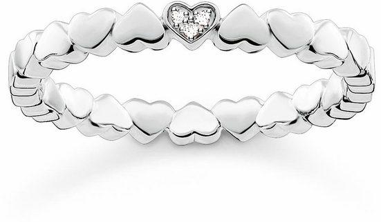 THOMAS SABO Diamantring »Herz, D_TR0013-725-14«, mit Diamanten