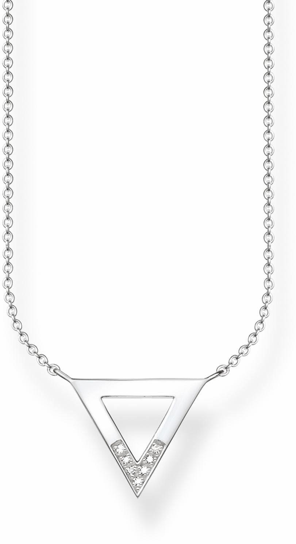 Thomas Sabo Kette mit Anhänger »D_KE0007-725-14-L45v« mit Diamanten