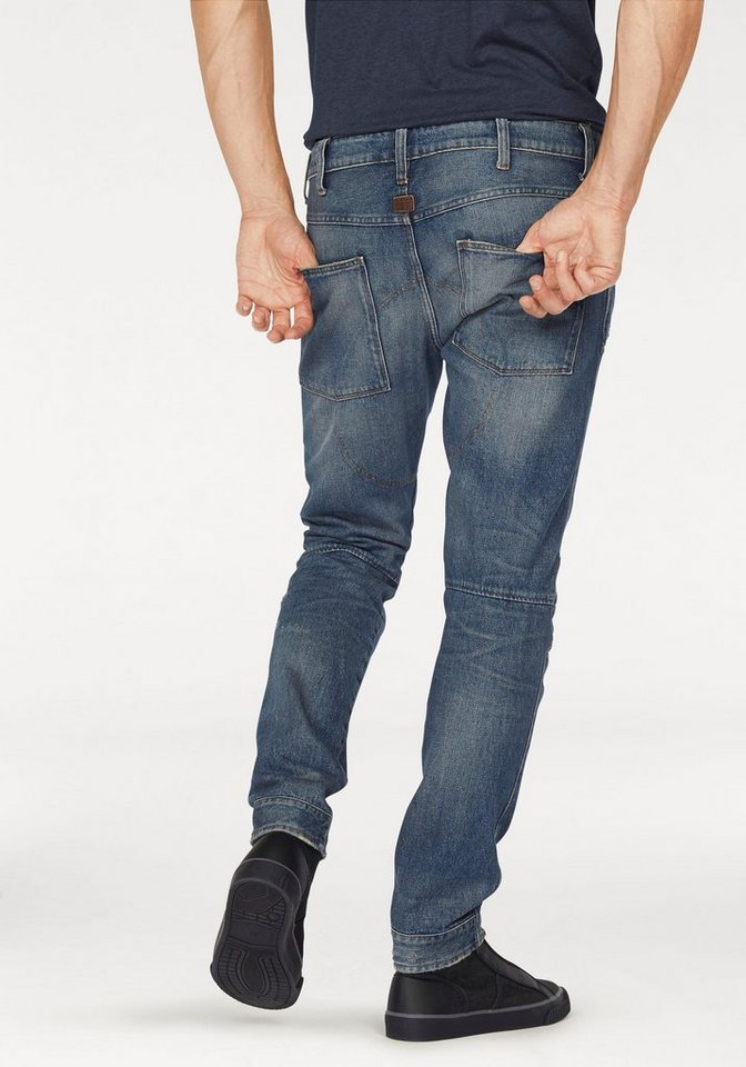 G-Star 5-Pocket-Jeans »5620 Elwood 3D Tapered« in blue-stone