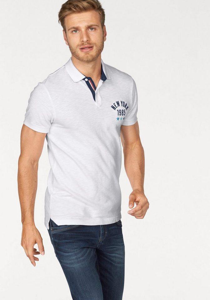 Hilfiger Denim Poloshirt »THDM POLO S/S 11« in weiß