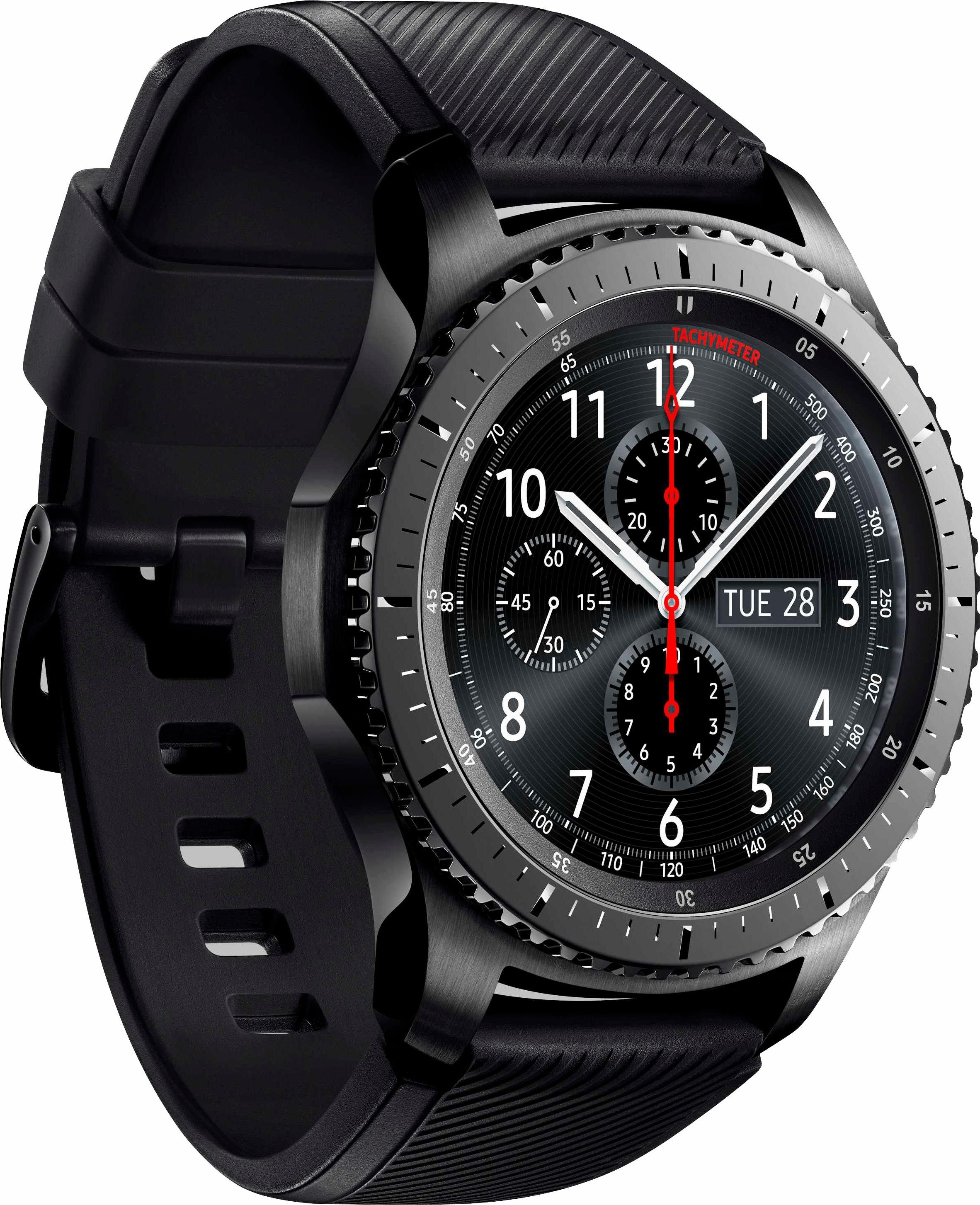 Samsung Gear S3 frontier Smartwatch (3,3 cm/1,3 Zoll, Tizen OS)