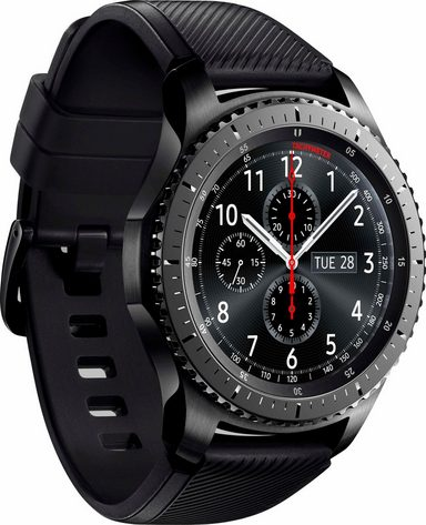 samsung gear s3 frontier smartwatch 3 3 cm 1 3 zoll tizen os online kaufen otto. Black Bedroom Furniture Sets. Home Design Ideas