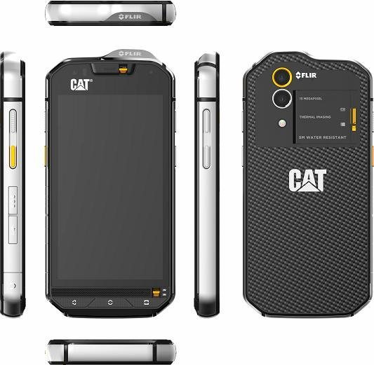 cat s60 outdoor smartphone inkl flir w rmebildkamera 11 9 cm 4 7 zoll display lte 4g. Black Bedroom Furniture Sets. Home Design Ideas