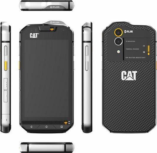 CAT S60 Outdoor-Smartphone, inkl. FLIR-Wärmebildkamera, 11,9 cm (4,7 Zoll) Display, LTE (4G)