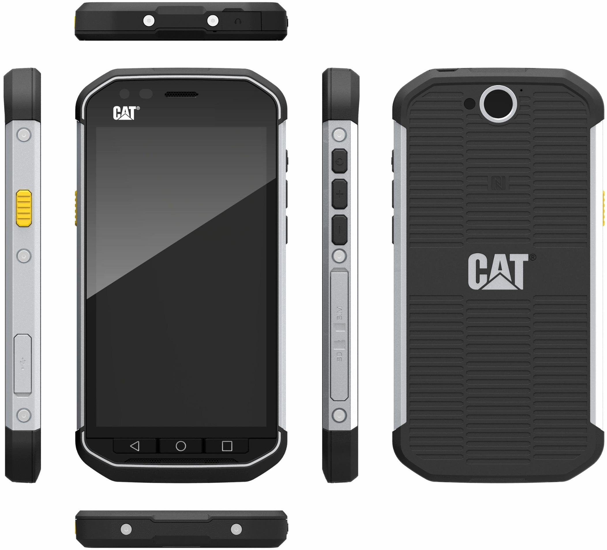 CAT S40 Outdoor-Smartphone, 11,9 cm (4,7 Zoll) Display, LTE (4G), Android 5.1 Lollipop, 8 Megapixel