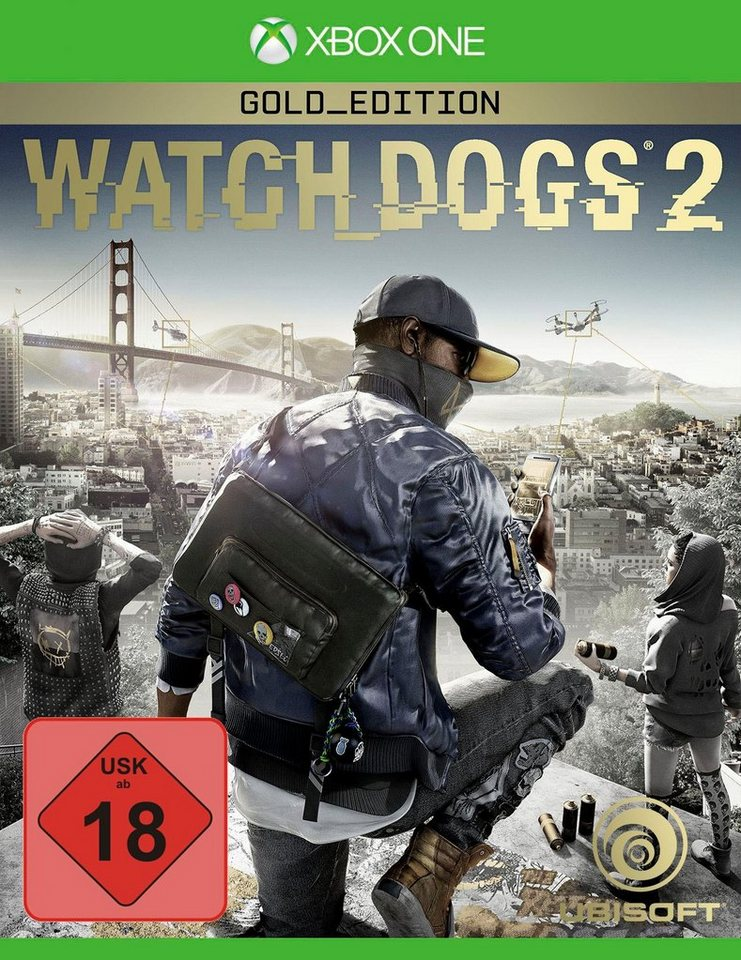 watch dogs 2 gold edition xbox one online kaufen otto. Black Bedroom Furniture Sets. Home Design Ideas