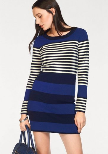 Bruno Banani Strickkleid, Colorblocking