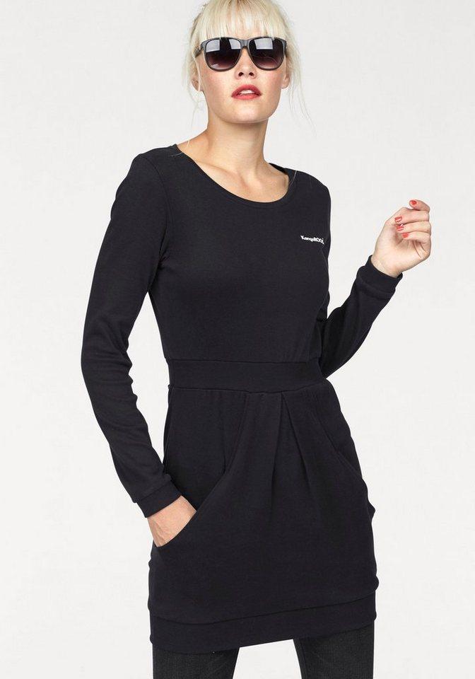 KangaROOS Longshirt in schwarz